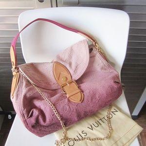 Louis Vuitton Sunray Denim Bag Rouge Fauvist
